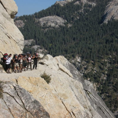 girls in Sequoia 079