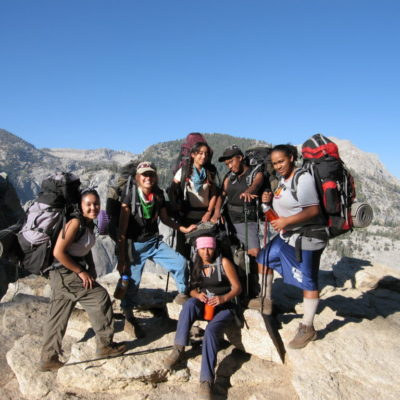 girls in Sequoia 153